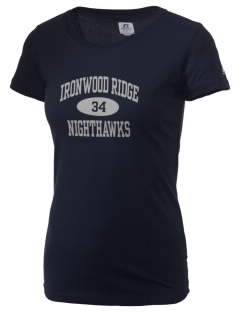 Ironwood Ridge High School Nighthawks  Russell Women's Campus T-Shirt