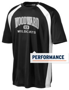 Woodward Middle School Wildcat Men's Dry Zone Colorblock T-Shirt