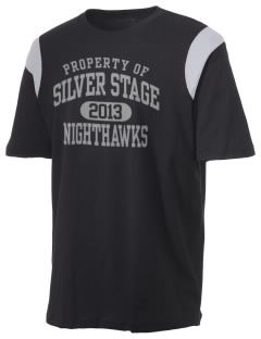 Silver Stage High School Nighthawks Holloway Men's Rush T-Shirt