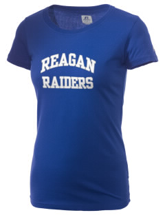 REAGAN HIGH SCHOOL Raiders  Russell Women's Campus T-Shirt