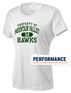 Mountain Valley Academy Hawks Women's Competitor Performance T-Shirt
