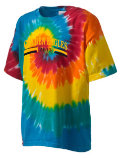 San Elijo Middle School Golden Eagles Kid's Tie-Dye T-Shirt