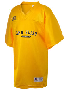 San Elijo Middle School Golden Eagles Russell Kid's Replica Football Jersey