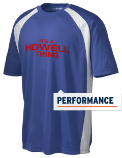 Howell Memorial Middle School Hawks Men's Dry Zone Colorblock T-Shirt