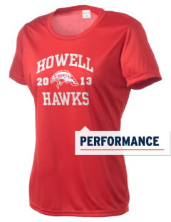Howell Memorial Middle School Hawks Women's Competitor Performance T-Shirt