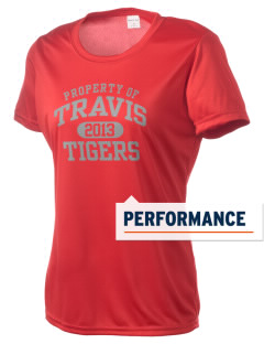 Travis High School Tigers Women's Competitor Performance T-Shirt