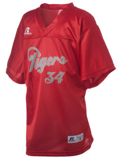 Travis High School Tigers Russell Kid's Replica Football Jersey