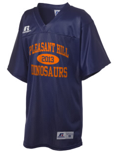 Pleasant Hill Elementary Dinosaurs Russell Kid's Replica Football Jersey