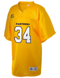 mead senior high school panthers Russell Kid's Replica Football Jersey