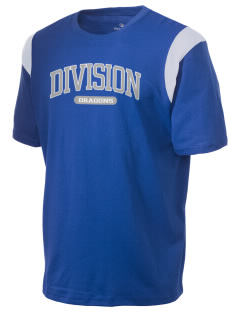Levittown Division High School Dragons Holloway Men's Rush T-Shirt
