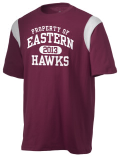 Forest Hills Eastern High School Hawks Holloway Men's Rush T-Shirt