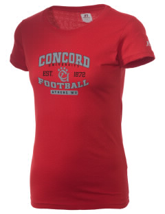 Concord University mountain lions  Russell Women's Campus T-Shirt