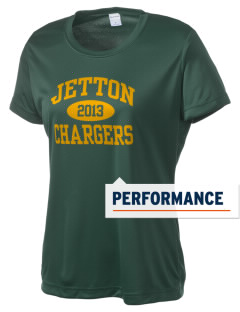 Jetton Junior High School Chargers Women's Competitor Performance T-Shirt