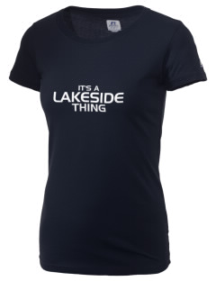 Lakeside Christian Academy FALCONS  Russell Women's Campus T-Shirt