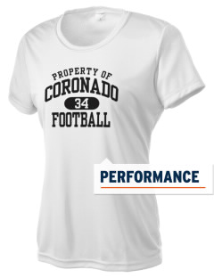 Coronado Middle & High School Leopards Women's Competitor Performance T-Shirt