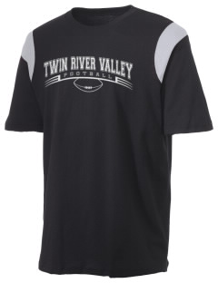 Twin River Valley High School Thunder Holloway Men's Rush T-Shirt