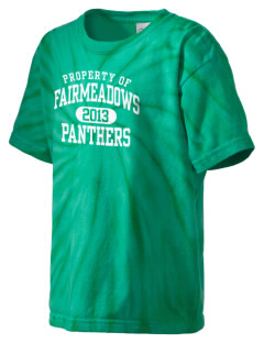 Fairmeadows Elementary School Panthers Kid's Tie-Dye T-Shirt