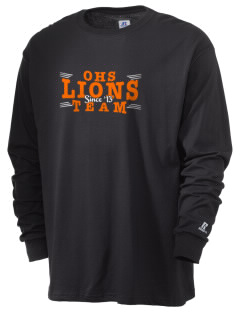 Orange High School Lions  Russell Men's Long Sleeve T-Shirt