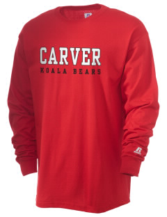 Carver Elementary School Koala Bears  Russell Men's Long Sleeve T-Shirt