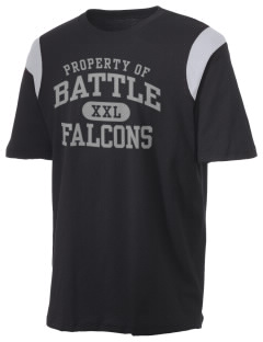 Battle Elementary School Falcons Holloway Men's Rush T-Shirt