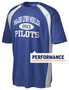 Major Lynn Mokler School Pilots Men's Dry Zone Colorblock T-Shirt