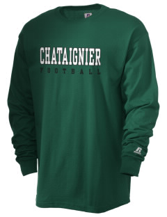 Chataignier High School Tigers  Russell Men's Long Sleeve T-Shirt
