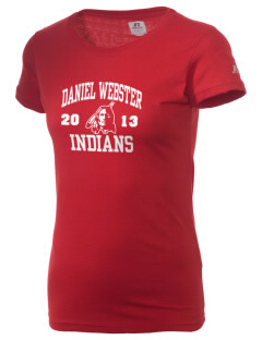 Daniel Webster High School Indians  Russell Women's Campus T-Shirt