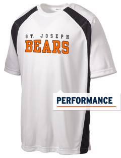 Saint Joseph Junior High School Bears Men's Dry Zone Colorblock T-Shirt