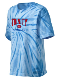 Trinity High School Pioneers Kid's Tie-Dye T-Shirt