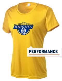 Mary Immaculate Queen School Knights Women's Competitor Performance T-Shirt