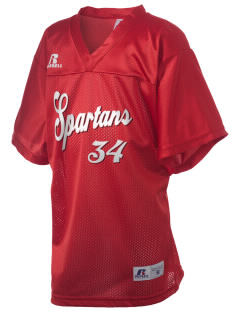 Springville Union School Spartans Russell Kid's Replica Football Jersey