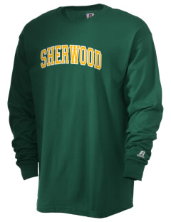 Sherwood Elementary School Archers  Russell Men's Long Sleeve T-Shirt
