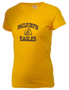 Immaculate Conception School Eagles  Russell Women's Campus T-Shirt