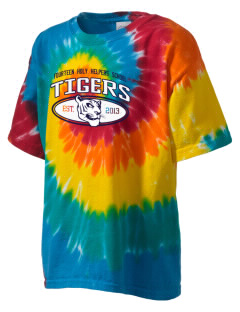 Fourteen Holy Helpers School Tigers Kid's Tie-Dye T-Shirt