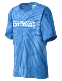 Our Lady Of Perpetual Help School Cougars Kid's Tie-Dye T-Shirt