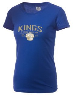 Saint Edwards Catholic School Angels  Russell Women's Campus T-Shirt