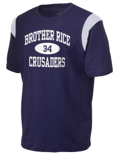 Brother Rice High School Crusaders Holloway Men's Rush T-Shirt
