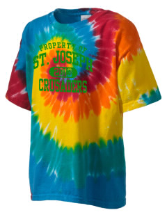 St. Joseph School Crusaders Kid's Tie-Dye T-Shirt