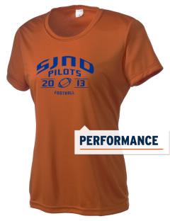 Saint Joseph Notre Dame High School Pilots Women's Competitor Performance T-Shirt