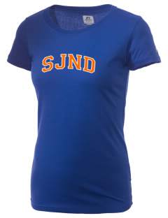 Saint Joseph Notre Dame High School Pilots  Russell Women's Campus T-Shirt