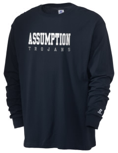 Assumption School Trojans  Russell Men's Long Sleeve T-Shirt
