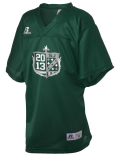 Saint John's School Shamrocks Russell Kid's Replica Football Jersey