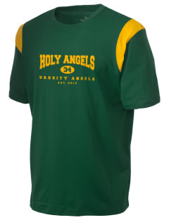 Holy Angels School Angels Holloway Men's Rush T-Shirt
