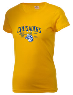 Saint Anthony School Crusaders  Russell Women's Campus T-Shirt