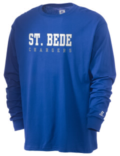 Saint Bede School Chargers  Russell Men's Long Sleeve T-Shirt
