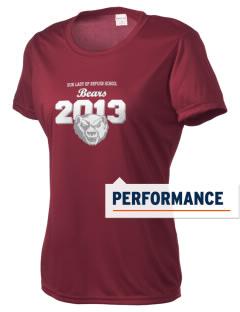 Our Lady Of Refuge School Bears Women's Competitor Performance T-Shirt