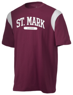 St. Mark School Lions Holloway Men's Rush T-Shirt