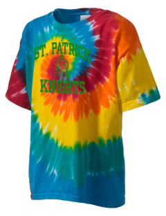 Saint Patrick School Knights Kid's Tie-Dye T-Shirt
