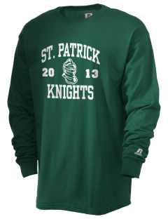 Saint Patrick School Knights  Russell Men's Long Sleeve T-Shirt