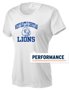 West Seattle Christian School Lions Women's Competitor Performance T-Shirt